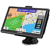 Jimwey Navigationsgerät für Auto Navi LKW Navigation 7 Zoll 16GB Lebenslang Kostenloses Kartenupdate mit POI Blitzerwarnung Sprachführung Fahrspurassistent...