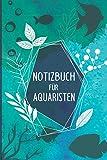 Notizbuch für Aquaristen: Aquarium Planer | A5 | Notizbuch liniert | 120 Seiten | Notizen aller Art | Tagebuch für deinen Aquarium | mit Fütterungs und...