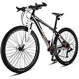 YUANP 29 Zoll 33 Speed Mountainbikes City Rennrad Rahmen Aus Aluminiumlegierung Für Erwachsene Damen Herren Unisex Hardtail Mountainbike,A-33speed