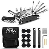 Migimi Fahrrad-Multitool, Fahrrad Werkzeug Tool 20 in 1 Multifunktions-Reparatursatz Fahrradwerkzeug Set für Fahrrad Reparatur, Werkzeugset Fahrrad mit Tasche,...
