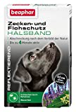 Zecken- & Flohschutz Halsband für Hunde   Zeckenschutz für Hunde   Reflektierendes Halsband gegen Zecken & Flöhe   Wasserfest   1 Stk