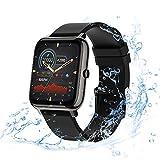 Smartwatch für Damen Herren, eLinkSmart Fitness Armband Fitnessuhr wasserdicht mit Schrittzähler Schlafmonitor Stoppuhr, Sportuhr Smart Watch 1,4 Zoll...