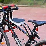 Honeyhouse Kinderfahrradsitz | Vorneliegender Fahrradsitz für Kinder | Kindersitz Fahrrad Vorne Mit Rutschfesten Armlehnen Und Pedalen für Kinder 2-6 Jahre,...