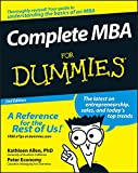 Complete MBA For Dummies® (English Edition)