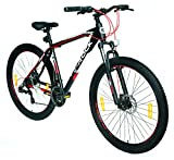E-ROCK Mountainbike EX-7 Hardtail 29 Zoll Shimano Schaltung Fahrrad MTB Trekkingrad Fitness Bike MTB Gabelfederung Scheibenbremsen