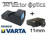 VECTOR-OPTICS RedDot Rotpunkt inkl. 11mm Montage/Dovetail (DOCTER kompartibel) Visier Sphinx Zieloptik