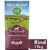 Irish Pure Adult Weiderind & Freiland-Huhn mit Kelp-Alge - Trockenfutter für Hunde, Hoher Fleischanteil, Vitamine, Getreidefrei, Sensitiv, Hundetrockenfutter,...