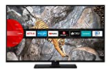 JVC LT-40V65LUA 102 cm / 40 Zoll Fernseher (Smart TV inkl. Prime Video / Netflix / YouTube, 4K UHD mit Dolby Vision HDR / HDR 10 + HLG, Bluetooth, Triple Tuner)