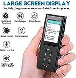 Dolmetscheinrichtung bewegliche Hand Smart Handheld Simultanübersetzungen Unterstützung 36 Sprachen Touch-Bildschirm 144 Stunden Standby for das Lernen Reisen...