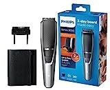 Philips Barttrimmer BT3216/14, 20 verschiedene Looks (0,5 - 10 mm), 3-Tage-Bart leicht gemacht, Reisebeutel, kabellos verwendbar, selbstschärfende...