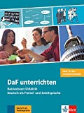 DaF unterrichten: Basiswissen Didaktik - Deutsch als Fremd- und Zweitsprache. Buch + Video-DVD