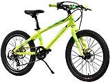 IMBM Fahrräder Kinder Wettbewerb Bike Marathon Fahrrad Freien Kinder Mountainbike geeignet for Jungen und Mädchen, die Fahrt Kinder Fitness Auto 7-Gang / 20...