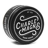 Charlemagne Premium Matte Pomade - Starker Halt - Leather Geruch - Edler Duft - Matt Look Finish für die Haare - Mattes Haar-Wachs für Männer/Herren - 100ML...