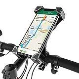 Fantigo Handyhalterung Fahrrad, silikon Fahrrad handyhalterung Motorrad Universal 360°Drehbarem handyhalter Fahrrad-Lenker Handyhalter für IOS Android GPS...