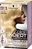 Schwarzkopf Color Expert Intensiv-Pflege Color-Creme 12.0 Eisblond, 3er Pack (3 x 167 ml)