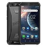 "Blackview BV5500 Plus Outdoor Handy 2020 4G IP68 Wasserdicht stoßfest staubdicht, 3GB + 32GB Quad-Core 1,5 GHz 4400 mAh Akku, Dual SIM Smartphone, 5.5"" HD+..."