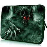 Yinghao Notebook-Tasche 15 6 15 13 12 14 10 10 1 9 7 Zoll Tablet PC-Tasche für HP Acer 17 17 3 13 3 11 6 Chromebook-Hülle für Laptops@Teufel_17 Zoll