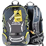 Best Adventure Wanderrucksack für Damen & Herren | 40L | wasserfest & extra leicht | perfekt für Läufer | Der ideale Outdoor Rucksack zum Wandern, Camping,...