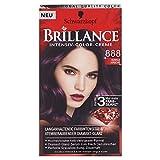Schwarzkopf Brillance Coloration Stufe 3, 888 Dunkle Kirsche, 143 ml