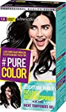 SCHWARZKOPF #PURE COLOR Coloration 1.0 Schwarzes Ebenholz Stufe 3, 1er Pack (1 x 143 ml)
