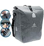 BYKLISTA Premium Fahrradtasche für Gepäckträger + Gratis eBook – hochwertige Gepäckträgertasche Hinterradtasche Tasche für Fahrrad – Wasserdicht mit...