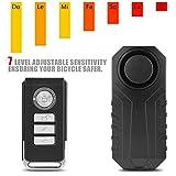 Richer-R Motorrad Alarm System, Wireless Motorrad Fahrrad Diebstahl Alarmanlage,Alarm Sicherheitsschloss Fahrzeug Alarmschloss Diebstahlschutz mit Fernbedienung...