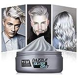 Haar Cream, Y.F.M Haarwachs Unisex DIY Haarformung Silbergraue Cream, Frische und Natürliche Frisur Wax Stylingcreme, Hair Creme geeignet für den täglichen...