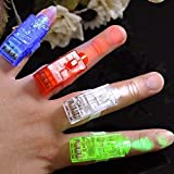 10x LED Fingerlampe Mitbringsel Fingerring Leuchtringe Fingerlichter Ring für Finger Mitgebsel Gastgeschenke Kindergeburtstag Geburtstag Kinder Giveaways...