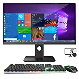 NEXSMART All in One Desktop Computer mit Intel i7 und vorinstalliertem Windows 10 All-in-One-Computer 8 GB DDR3 480 SSD-Unterstützung für WiFi und 23,8 Zoll...