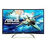 ASUS VA326HR 80,01 cm (31,5 Zoll) Monitor (VGA, HDMI, Full HD, GamePlus-Technologie, 144Hz,1.800R Krümmung) schwarz