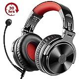 Bluetooth Kopfhörer Wireless OneOdio Over Ear Kopfhörer Kabellos mit 30 Stunden Spielzeit On Ear Headphones mit Surround Sound Wired Gaming Headset mit Kabel...