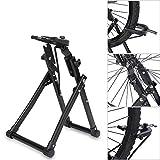 Ausstellungsständer,mountainbike fahrradständer einfach zu montieren Rad Kickhalterträger Zentrierwerkzeuge Halterung für Fahrrad-Räder...