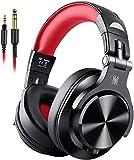 OneOdio Kopfhörer Over Ear, DJ Kopfhörer mit Share Port 6,35mm & 3,5 Klinke Geschlossen HiFi Kopfhörer mit Kabel Adapter-frei, kabelgebunden Headphone...