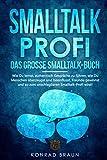 SMALLTALK-PROFI – Das große Smalltalk-Buch: Wie Du lernst, authentisch Gespräche zu führen, wie Du Menschen überzeugst und beeinflusst, Freunde gewinnst...