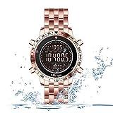 F-XDD Mechanische Uhr, Männer Multi-Funktions-Sport-Uhr Herren Outdoor Multifunktions-Wecker leuchtende wasserdicht Sport-Uhr Ideal für...