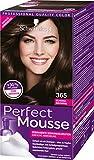Schwarzkopf Perfect Mousse Permanente Schaumcoloration, 365 Schoko Brownie Stufe 3, 3er Pack (3 x 93 ml)