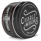 Charlemagne Matte Pomade - Starker Halt - Edler Duft - Matt Look Finish für die Haare - Mattes Haar-Wachs für Männer/Herren - 100ML Friseur Qualität |...
