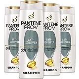 Pantene Pro-V Anti-Schuppen Shampoo Für Alle Haartypen, 4er Pack (4 x 300 ml) Schuppen Shampoo, Shampoo Trockene Kopfhaut, Shampoo Damen, Haarpflege, Reinigt...