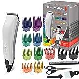 Remington Haarschneidemaschine Colour Cut (netzbetriebener Haarschneider, selbstschärfende Edelstahlklingen, inkl. 16 teiliges Zubehör davon 11...