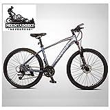 NENGGE 27.5 Zoll Mountainbike für Herren/Damen, Jugend/Erwachsenen Hardtail MTB mit Gabelfederung, Zwei Scheibenbremsen Fahrräder Geeignet ab 160-200cm,...