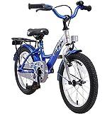 BIKESTAR Kinderfahrrad für Mädchen und Jungen ab 4-5 Jahre   16 Zoll Kinderrad Classic   Fahrrad für Kinder Silber & Blau   Risikofrei Testen