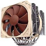 Noctua NH-D14, Premium CPU Kühler mit NF-P14 PWM und NF-P12 PWM Lüfter (Braun)