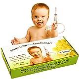 Nasensauger Baby. Das Original. Mit 2 Saugköpfen und Gratis Reinigungsbürste - klinisch getesteter Nasensauger Staubsauger - der sichere und sanfte Baby...