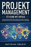 PROJEKTMANAGEMENT - Führung mit Erfolg: Wie Sie mit einfachen Methoden aus Psychologie und Wirtschaft zur erfolgreichen Führungskraft werden und durch...