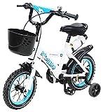 Actionbikes Kinderfahrrad Donaldo - 12 Zoll - V-Break Bremse vorne - Stützräder - Luftbereifung - Ab 2-5 Jahren - Jungen & Mädchen - Kinder Fahrrad - Laufrad...