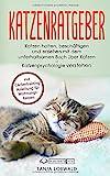 Katzenratgeber: Katzen halten, beschäftigen und erziehen mit dem unterhaltsamen Buch über Katzen – Katzenpsychologie verstehen (mit Clickertraining...
