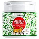 Furanima Vitamin B Komplex für Hunde - 180 Tabletten (bis zu 6 Monaten) - Vitamine für Hunde und Katzen - Geeignet für alle Rassen - Geprüfte Qualität Made...
