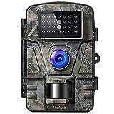 Victure Wildkamera mit Bewegungsmelder Nachtsicht 16MP 1080P Full HD Wildtierkamera mit Infrarot No Glow LEDs und IP66 Wasserdicht Beutekameras für...