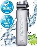 weletix Trinkflasche 1L | auslaufsichere Wasserflasche | Sportflasche für Fahrrad, Camping, Fitness, Laufen | Tritan BPA-frei
