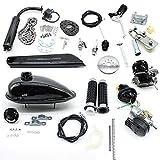 50CC Fahrradmotor Kits 2-Takt Gasmotor Fahrradmotor für 26'28' Fahrräder